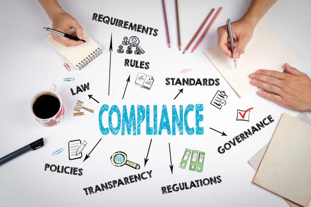 Compliance Concept. The meeting